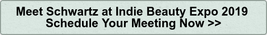 Meet Schwartz at Indie Beauty Expo 2019  Schedule Your Meeting Now >>