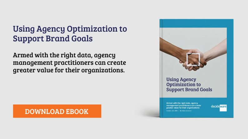 Using Agency Optimization to Support Brand Goals