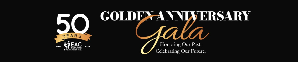 EAC Network, 50 Years - Golden Anniversary Gala Graphic