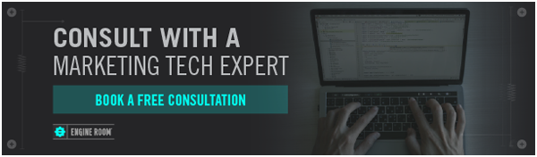 Consult with a Marketing Tech Expert