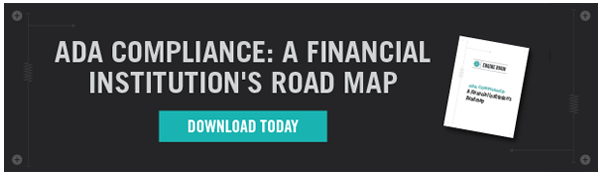 ADA Compliance: A Financial Institution's Road Map