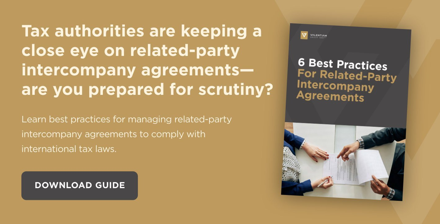 Download Now: 6 Best Practices For Related-Party Intercompany Agreements
