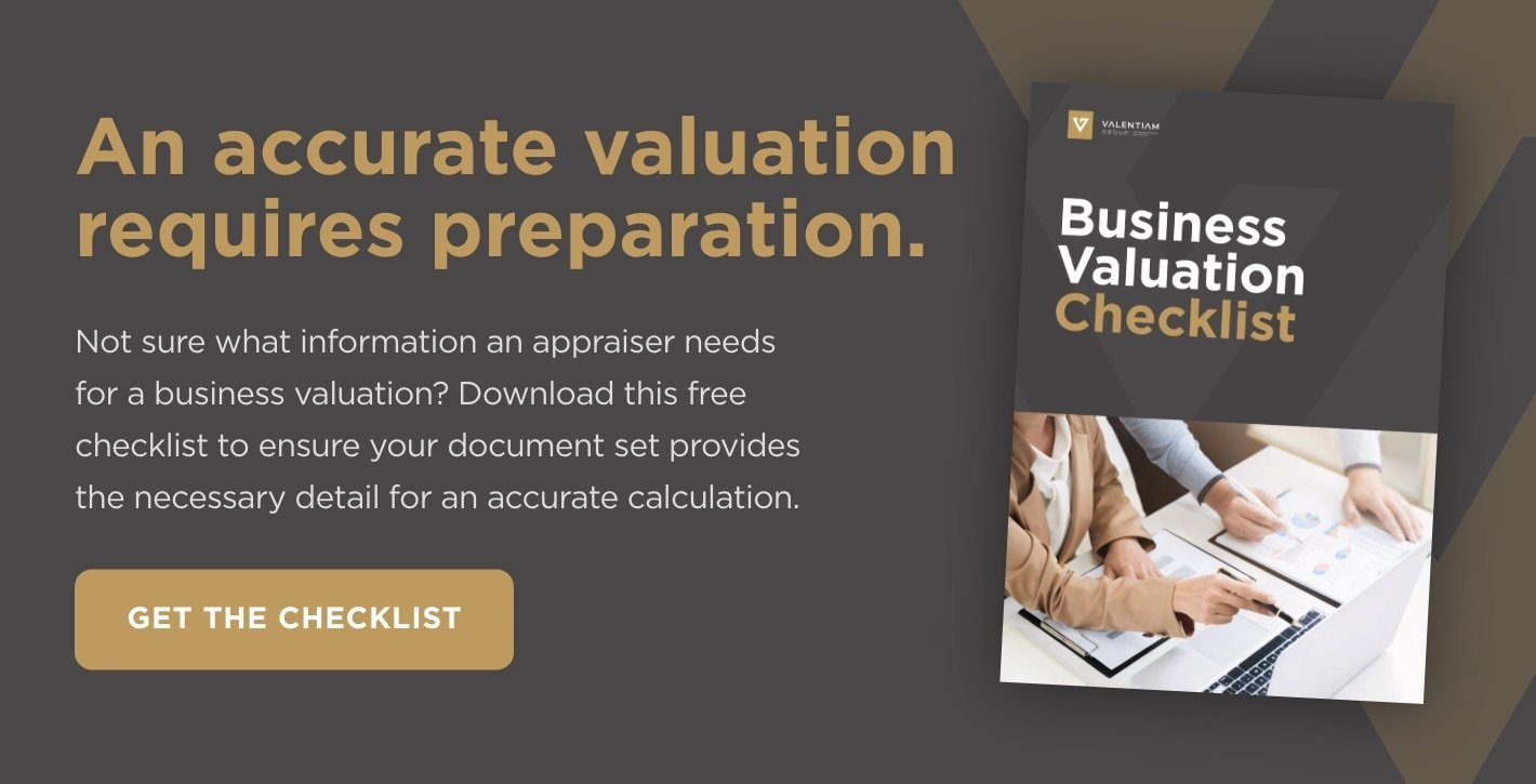 Download Now: Business Valuation Checklist