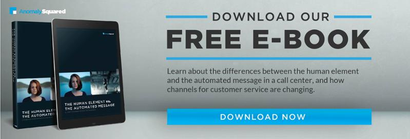 Download our free e-book going in depth about why we still need human interaction in our customer service journey.
