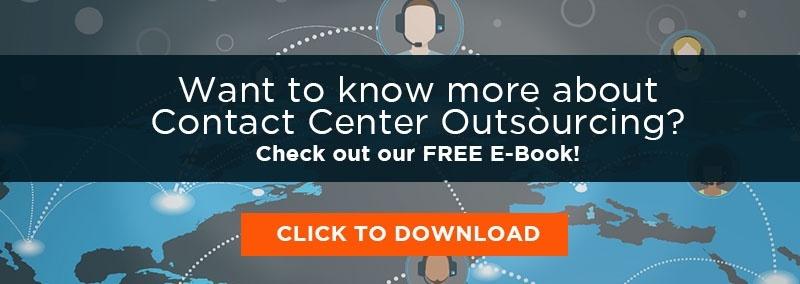 Free Call Center Outsourcing E-Book