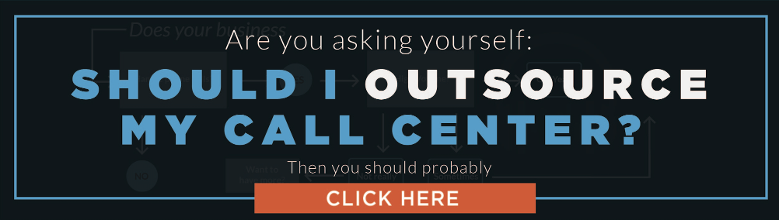 Call Center Outsourcing Flowchart to help you make a decision