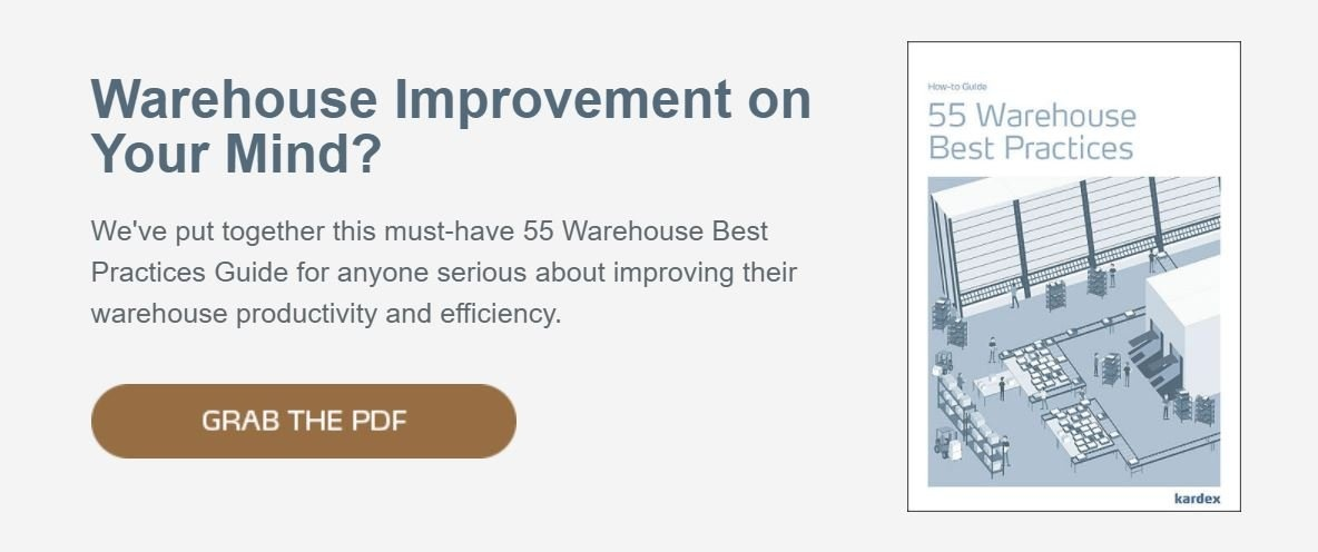 Warehouse Improvement CTA