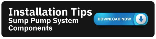 Installation Tips - Sump Pump Systems