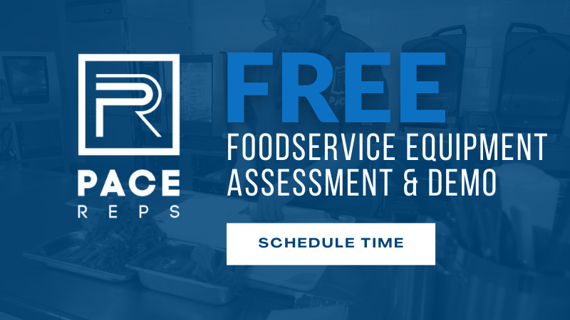Pace Reps Foodservice Equipment Assessment CTA
