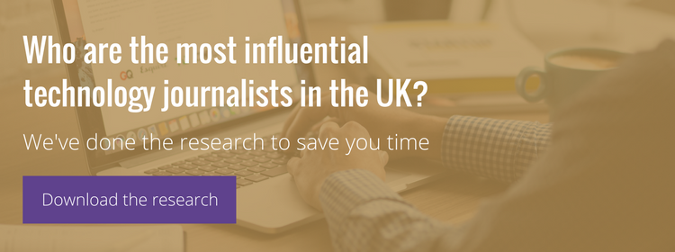 Most influential technology journalists uk