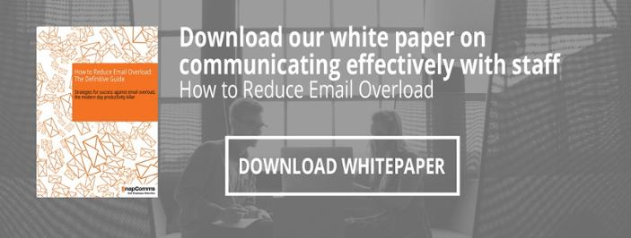 reduce email overload whitepaper download