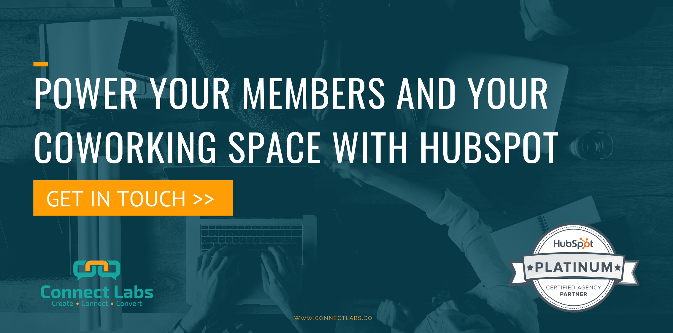 coworking spaces and membership with HubSpot