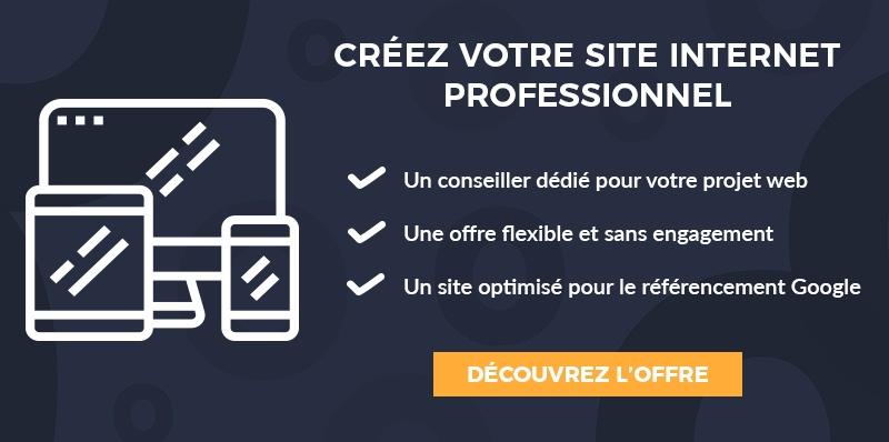 cta créer site internet professionnel offre simplebo