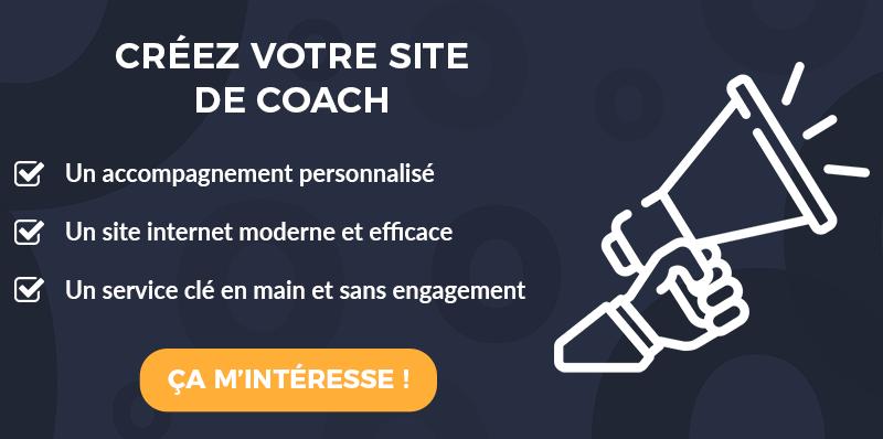 CTA Créer un site internet de coach efficace