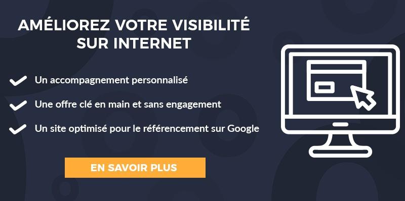 CTA améliorez visibilité site internet