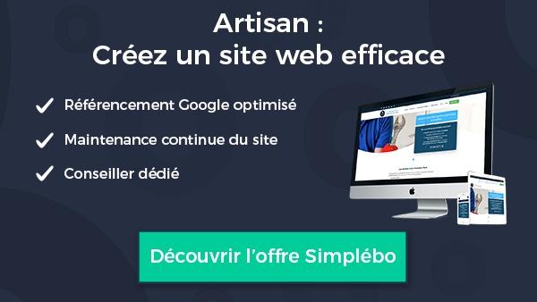 artisan création d'un site web efficace