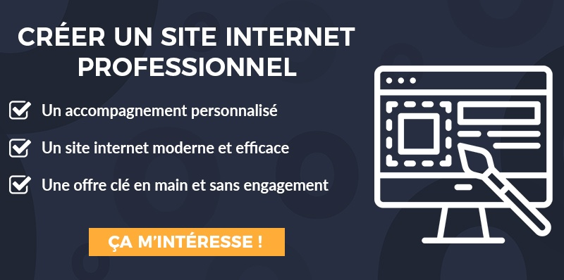 CTA Comment créer un site internet professionnel