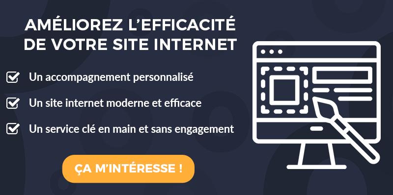 CTA refonte de site internet professionnel par Simplébo