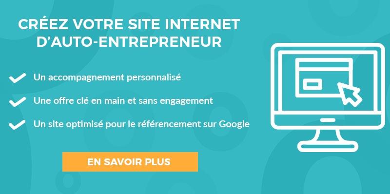 CTA créer site internet auto-entrepreneur
