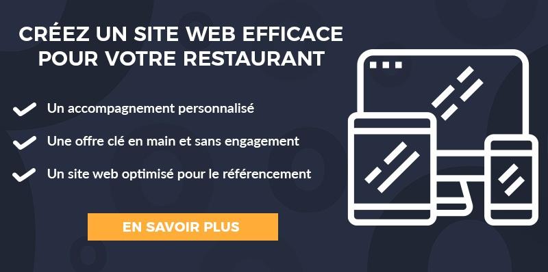 cta creer site internet restaurant pulp