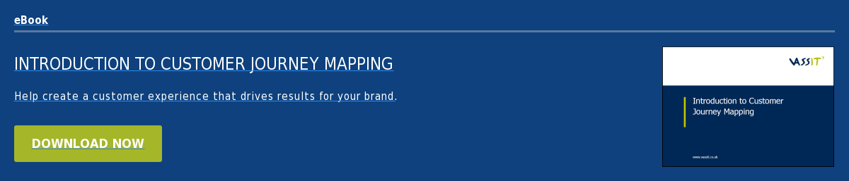 eBook Introduction to Customer Journey Mapping Help create a customer  experience that drives results for your brand. Download now
