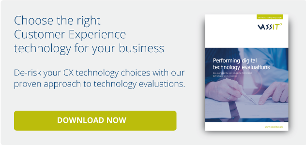 Choose the right CX technology for your business