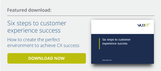 Download six steps to CX success