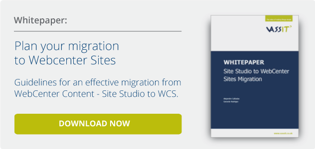 Whitepaper. Plan your migration to WebCenter Sites