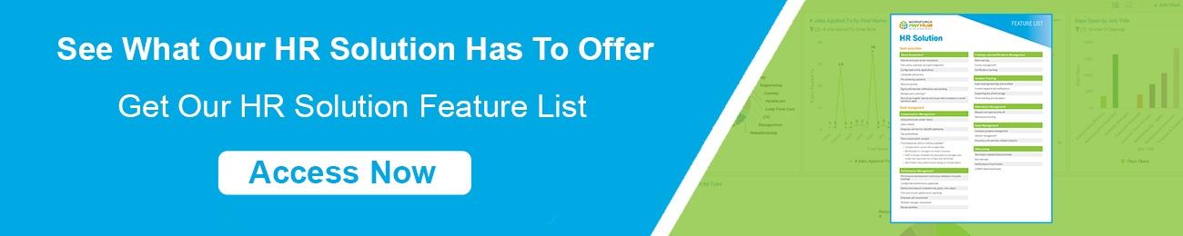 HR Feature List CTA Horizontal