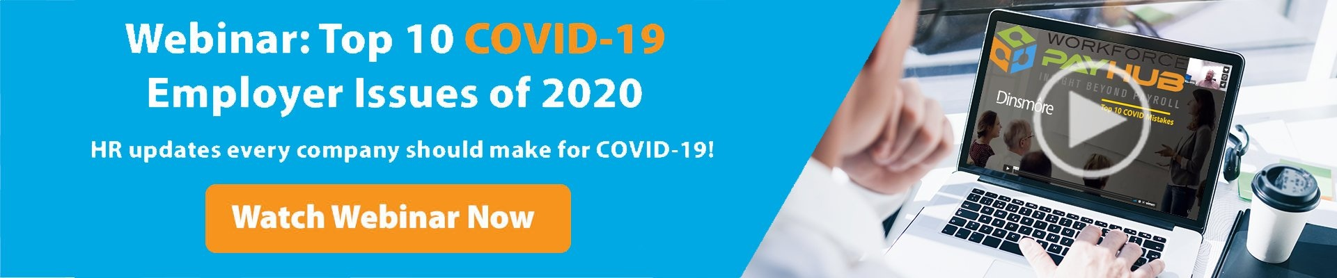 Top 10 COVID-19 Employer Issues of 2020 Webinar
