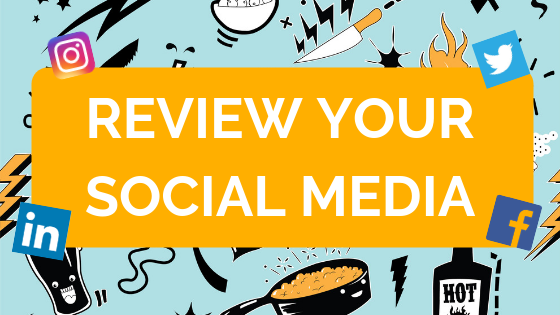 Social Media Cleanse - Check your social media profiles before you apply for a job - Off to Work