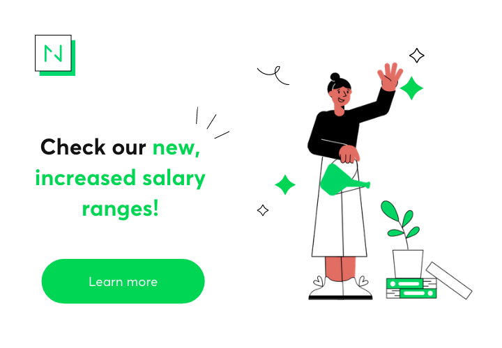 Check our new, increased salary ranges!