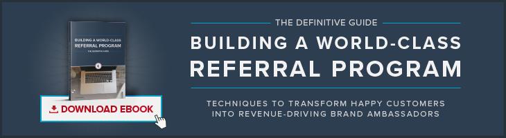 Building A World-Class Referral Program eBook