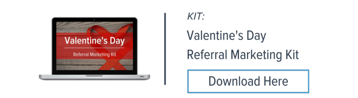 Valentines Day Referral Marketing Kit