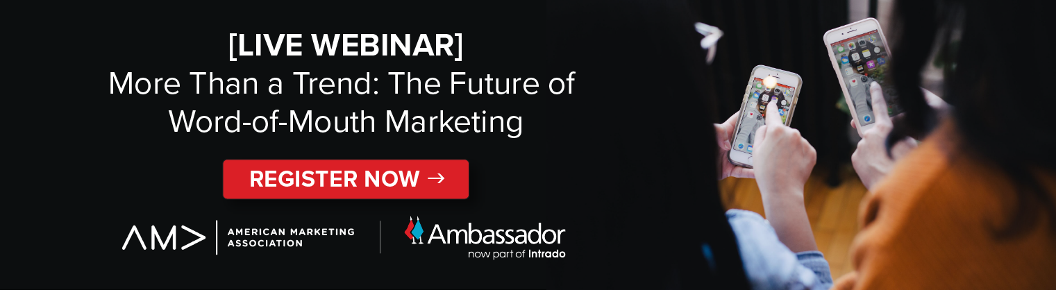 The Future of Word of Mouth Marketing Webinar CTA