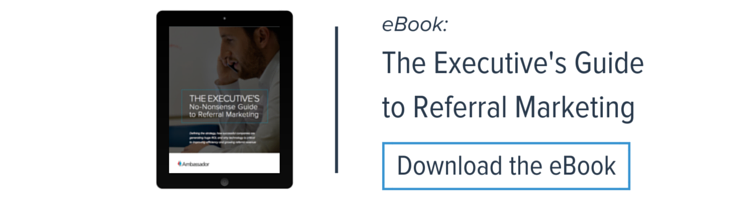 Executive's No-Nonsense Guide to Referral Marketing eBook
