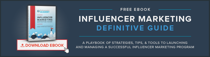 Influencer Marketing Platform Definitive Guide CTA Button