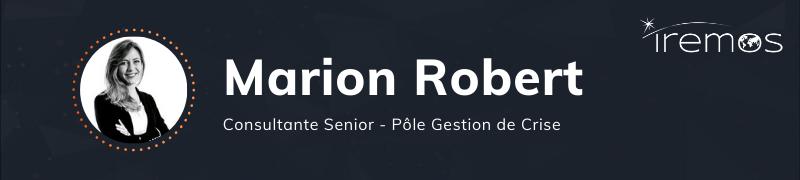 Consultant Iremos | Marion ROBERT