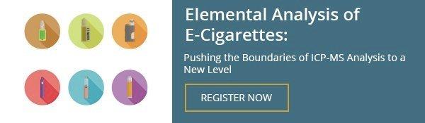 Elemental Analysis Of E-Cigarettes