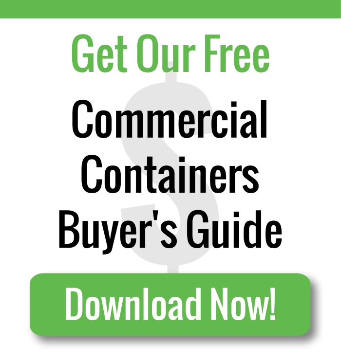 Download the Free Commercial Container Buyer's Guide