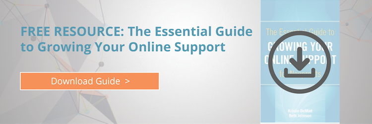Guide to Growing Online Support