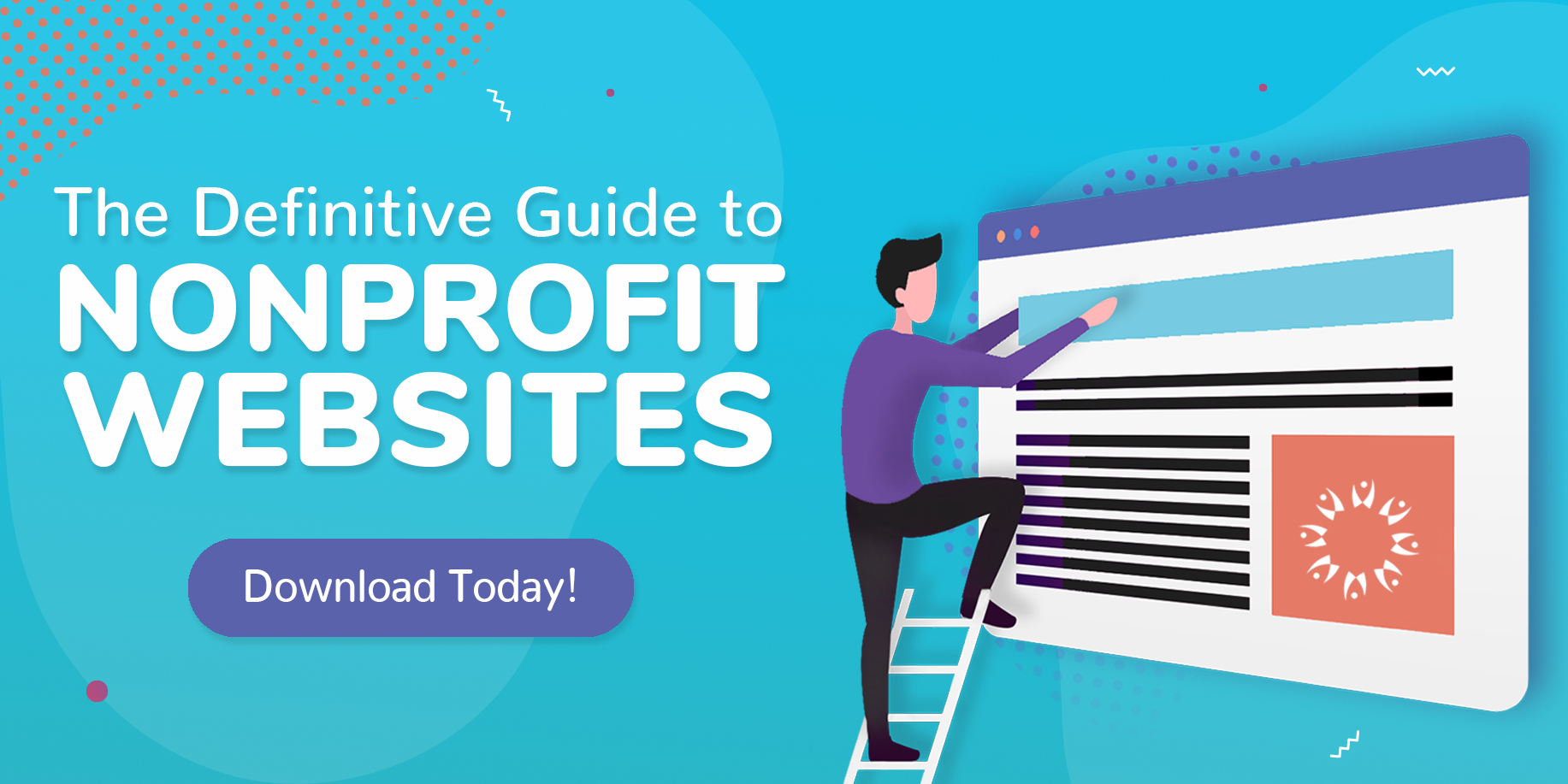 The Definitive Guide to Nonprofit Websites CTA