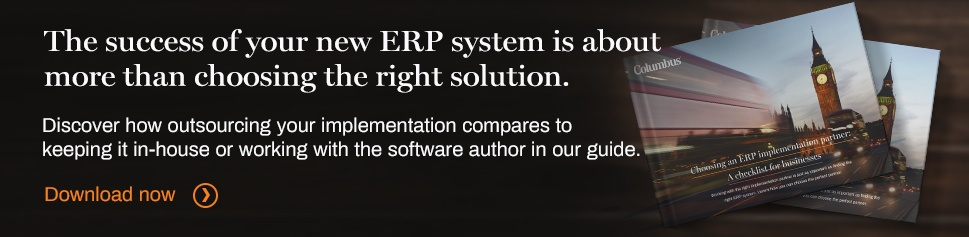 How do you choose an ERP implementation partner?