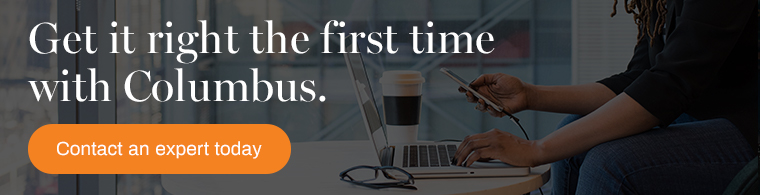 get your post-implementation support right the first time with columbus