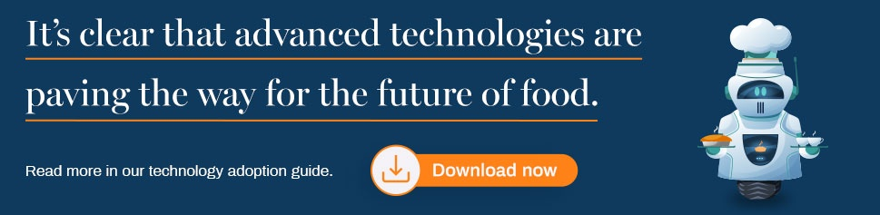 Technology adoption guide for food businesses
