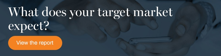 Learn what your target market expects in our report