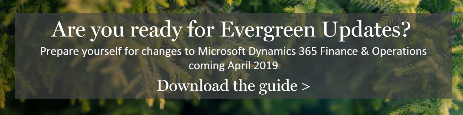 evergreen updates for microsoft dynamics