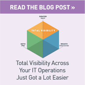 Read the Blog Post: Total Visibility Across Your IT Operations Just Got a Lot Easier