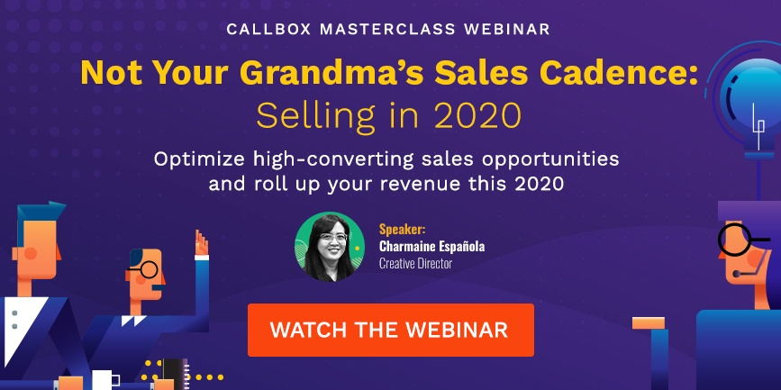 Watch the webinar: Not Your Grandma's Sales Cadence: Selling in 2020