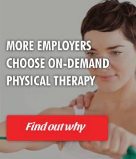 Choose On site physical therapy